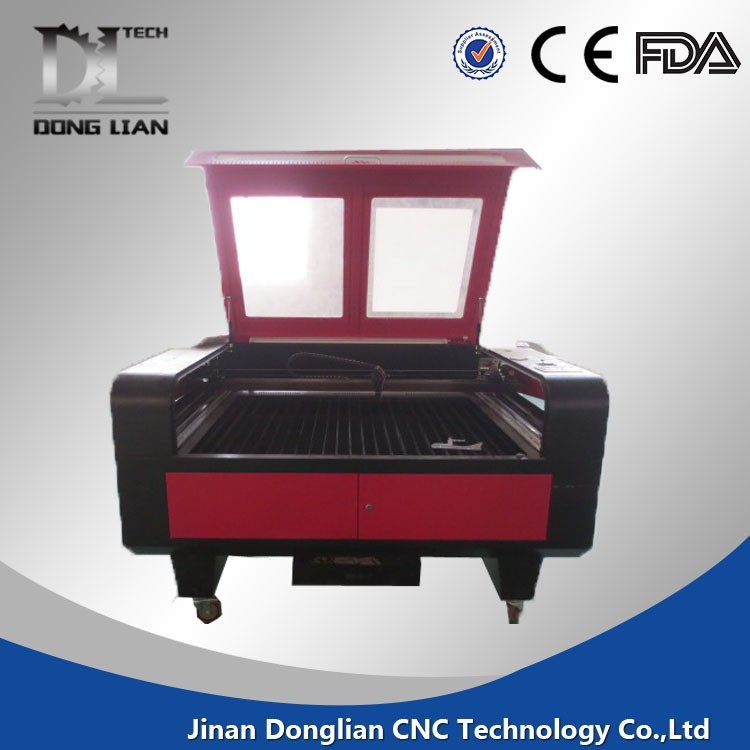 co2 granite stone laser engraving machine with Rotary Axis Equipped for 3d crystal Wine Bottle