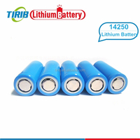 Smallest ICR 14250 3.7V 260mAh Rechargeable Lithium Battery
