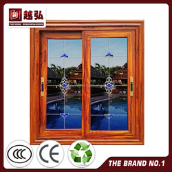 ENDER-A069 two track aluminum sliding window drawing/home interior products