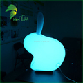 Advertising Decoration Inflatable LED Rabbit Model / Lovely Grow Inflatable Lighting LED Animal