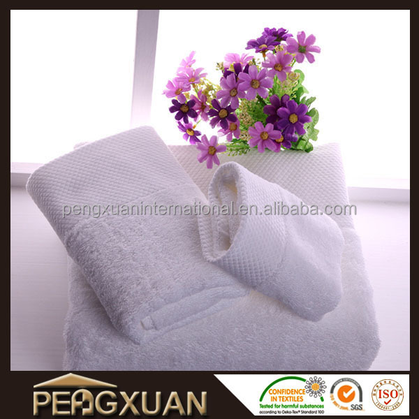 High-grade platinum file cotton embroidery hotel towels