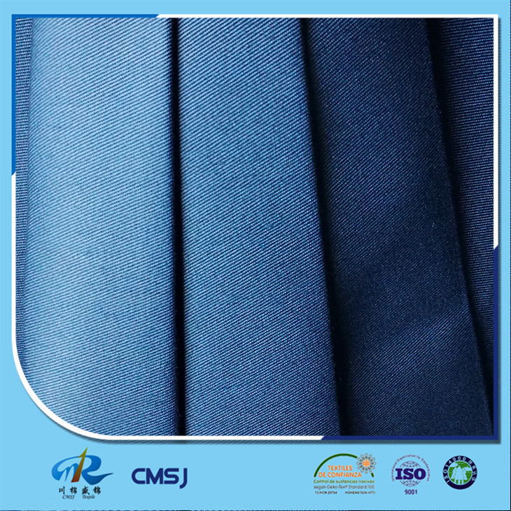 China wholesale poly cotton 120*60 twill woven fabric for suits