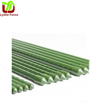 Plastic Coated Steel Stakes Garden Stakes