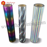 Rainbow Reflect Holographic Hot Staming Foil for Fabric