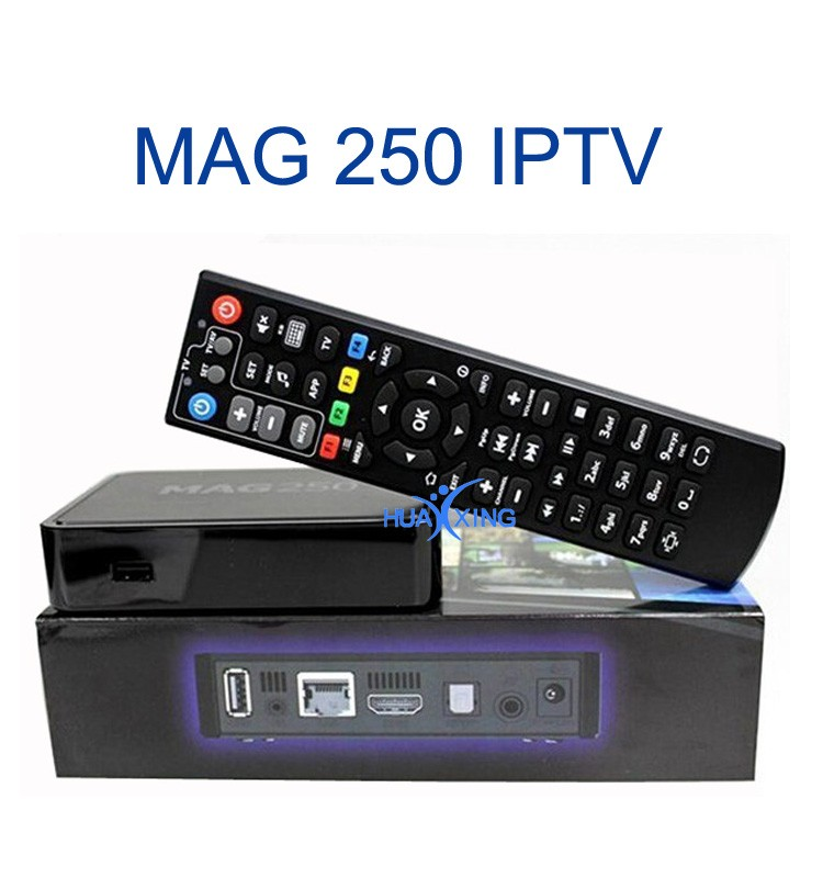 how to set up mag 254 iptv