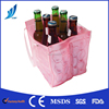 Gel wine cooler wrap 6 bottles wine carrier bag