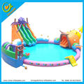 New giant inflatable water park