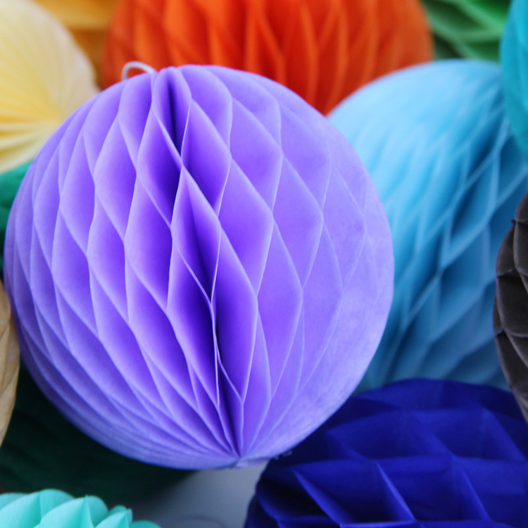 Wedding decoration lantern flower party supply hanging paper Honeycomb ball