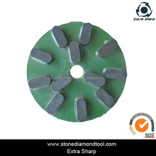 250mm Marble Granite Grinding Disc Abrasive Polishing Disc for Granite Automatic Polishing Machine