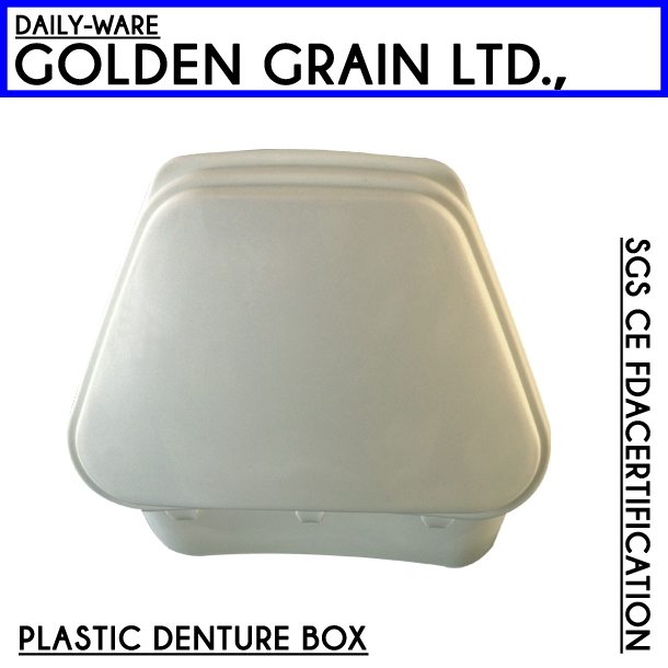 endo dental plastic denture storage box