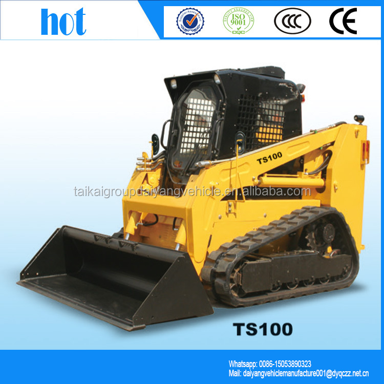 China brand TS100 multifunctional racoon skid steer loader