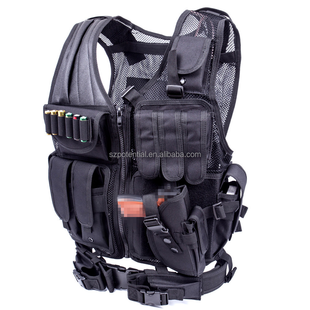 Hot sale high quality military tactical safety bullet proof vest for man
