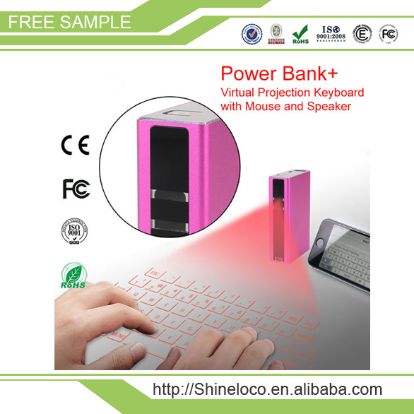 Laser Projection Bluetooth Virtual Keyboard & Mouse for Iphone, Ipad, Smartphone and Tablets