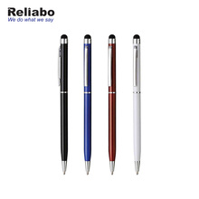 Reliabo Wholesale Products Custom Company Names Logo Metal Touch Screen Stylus Ball Point Pen