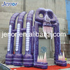 Festival Halloween Inflatable Ghost Skull Arch Entrance for Outdoor Decoration