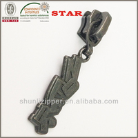New Products Zipper Puller For Leather