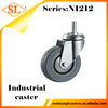 Swivel Small Rubber Wheels with Screw