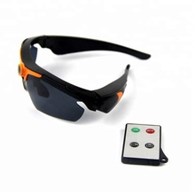 HD sunglasses camera with remote control pinhole camera stylish sunglasses