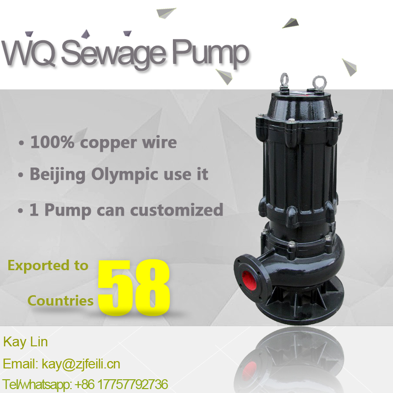 centrifugal pumps manufacturers for waste wate sump pump sewage water pump