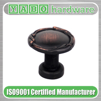 Oil rubbed bronze zinc alloy furniture cabinet handle, furniture handle and knob