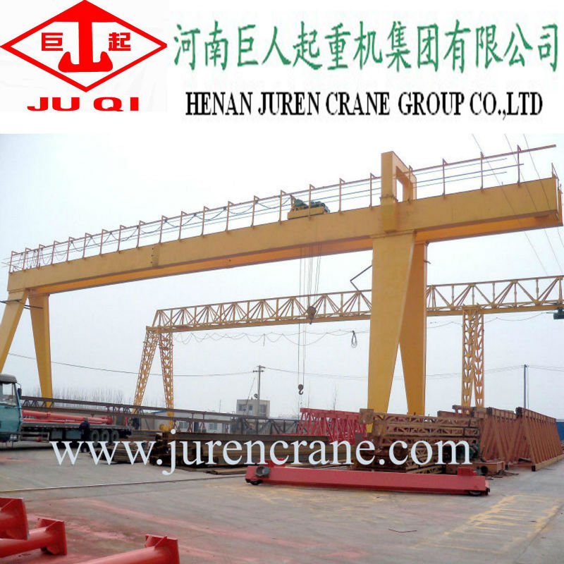 Double girder gantry crane 65 ton from professional manufacturer