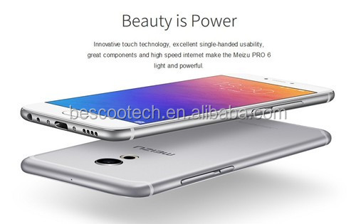 "Original Meizu Pro 6 Pro6 MTK Helio X25 Deca Core Mobile Phone 5.2"" 4GB RAM 32GB ROM 1920x1080 21.16MP Camera 3D Press 2560mAh"