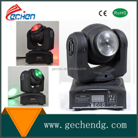 new Chinese stage light 10w disco beam light moving head with 2 sides