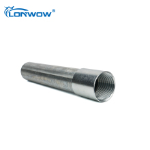"1/2""- 6"" UL Galvanized Rigid Steel RSC Pipe for electrical cable installation"