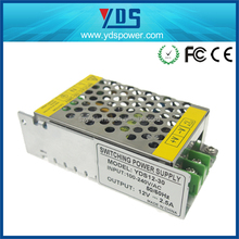 YDSH12-30 110v dc output power supply 12v 2.5a variable power supply portable power supply
