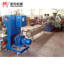 PVC pelletizing production line PVC hot cutting granulator plastic recycling machine