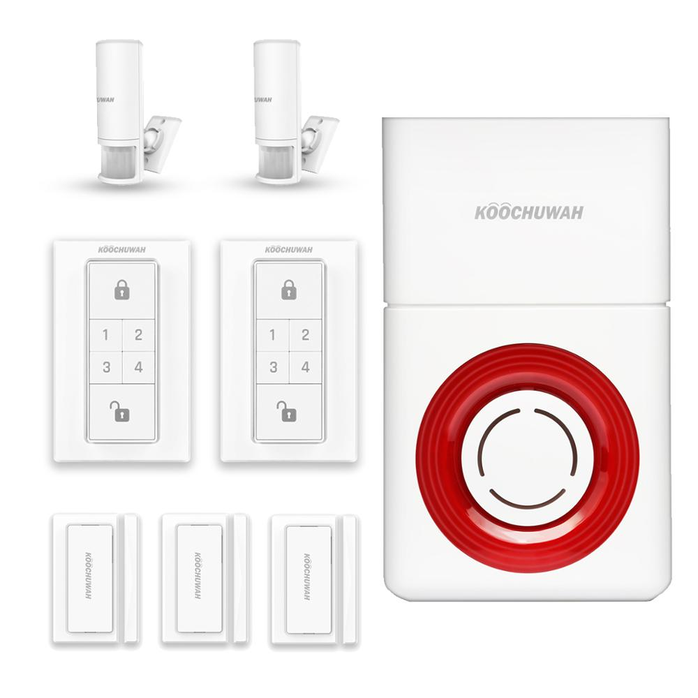 Wireless 3G&<strong>GSM</strong>&WIFI Home and Business Security Alarm System, DIY Smart Alarm Systems Kits,battery operated