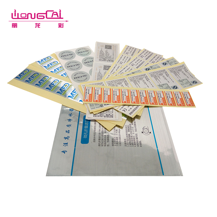 High quality various style manufacturer paper shipping adhesive label sticker printing