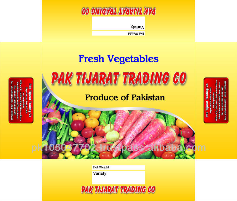Fresh Vegetable From Pakistan