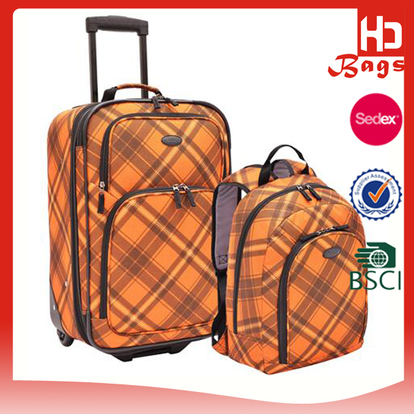 China supplier top brands school children travel trolley luggage bag