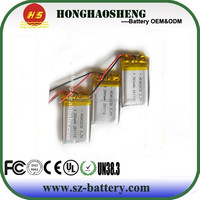 hot selling 402030 180 mah polymer battery