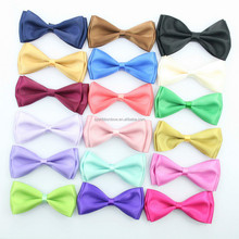 Satin Ribbon Bow Tie In Xiamen