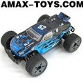 ro-147543B rc off-road truck Emulational high speed remote control off-road monster truck with shock absorbers (blue)