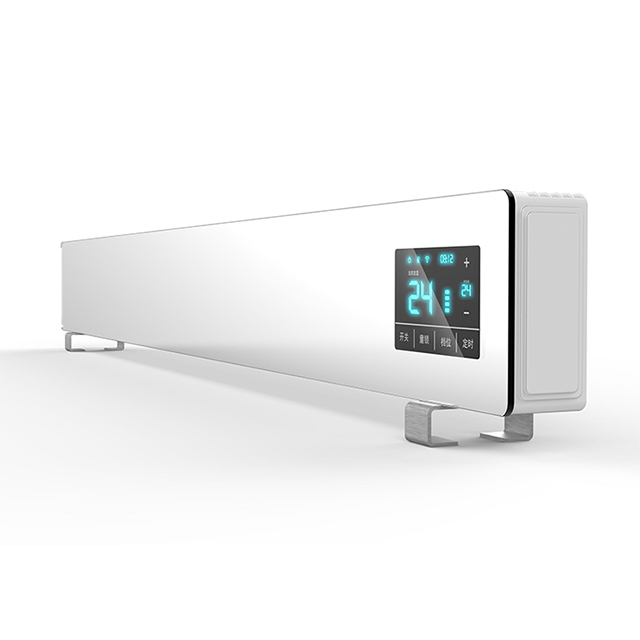 WIFI Electric glass baseboard Convection Radiator Panel <strong>Heater</strong>