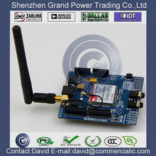 SIM900 GSM GPRS module shields extension plate wireless module