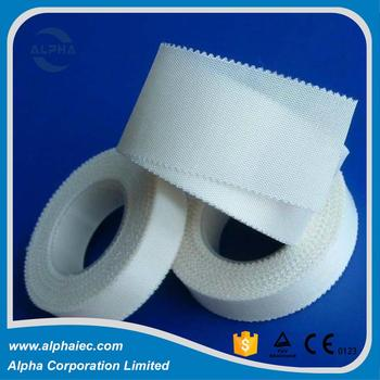 Trade assurance excellent breathability silk PE non-woven surgical tape