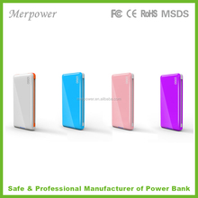 Universal cell phone battery charger mobile rohs 5200mah portable power pack