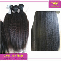 5A -10A grade best quality Direct buy China 100%Unprocessed brazilian coarse yaki hair extension