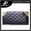 Hot sell women patent wallet alibaba candy color new design gents wallets