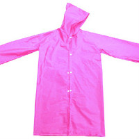 Adult PEVA Rubber Raincoat