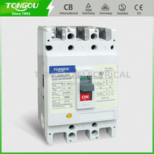 TOS1 CM1 3P 4P Moulded Case Circuit Breaker with PC Material Silver Contact A grade