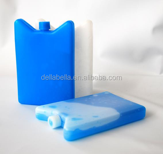 Reusable ice cooler box insulation plastic HDPE gel ice box