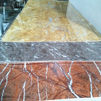 4x8Foot Different kinds of stone grain high gloss uv mdf to Dubai