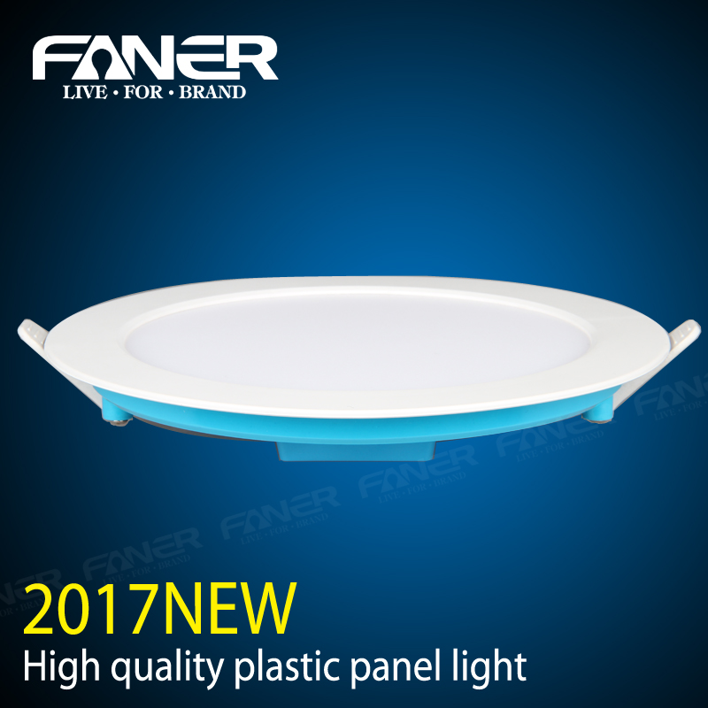 best service Ra>80 round 3000K/4500K/6500K plastic 16w led panel ceiling light