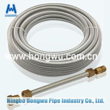 Inch 1/2'' corrugated stainless steel metal hose made in China