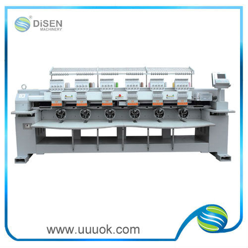 6 head embroidery machine digital price
